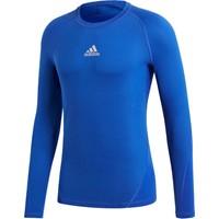 Adidas Alphaskin Shirt Lange Mouw - Royal