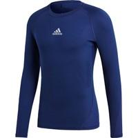 Adidas Alphaskin Shirt Lange Mouw - Marine