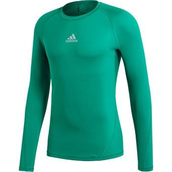 Picture of Adidas Alphaskin Shirt Lange Mouw - Groen