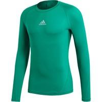 Adidas Alphaskin Shirt Lange Mouw - Groen