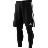 Adidas Tiro 19 2-in-1 Short - Zwart / Wit
