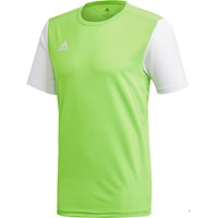 Adidas Estro 19 Shirt Korte Mouw - Solar Green