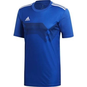 Picture of Adidas Campeon 19 Shirt Korte Mouw - Royal