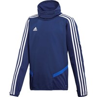 Adidas Tiro 19 Warm Top Kinderen - Marine / Wit
