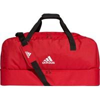Adidas (large) Tiro 19 Sporttas Met Bodemvak - Rood / Wit