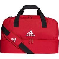 Adidas (small) Tiro 19 Sporttas Met Bodemvak - Rood / Wit