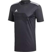 Adidas Campeon 19 Shirt Korte Mouw Kinderen - Donkergrijs / Wit