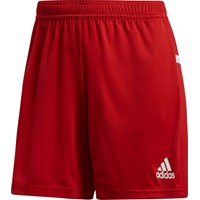 Adidas Team 19 Short Dames - Rood / Wit