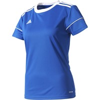 Adidas Squadra 17 Shirt Korte Mouw Dames - Royal / Wit