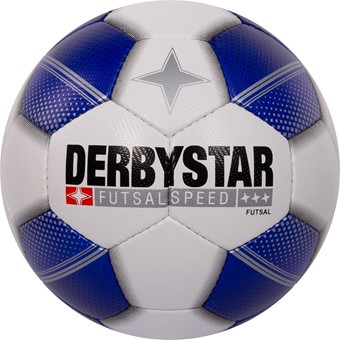 Picture of Derbystar Futsal Speed Voetbal - Wit / Royal