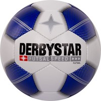 Derbystar Futsal Speed Voetbal - Wit / Royal