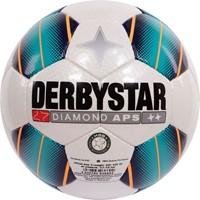 Derbystar Diamond Wedstrijdbal - Wit / Turkoois