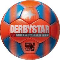 Derbystar Brillant Snow Voetbal - Blauw / Oranje