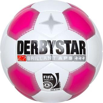 Picture of Derbystar Brillant Ladies Wedstrijdbal Dames - Wit / Roze