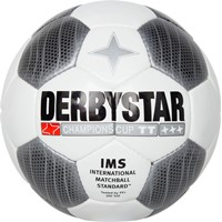 Derbystar Champions Cup Trainingsbal - Wit / Zwart / Antraciet