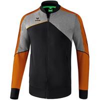 Erima Premium One 2.0 Trainingsvest Kinderen - Zwart / Grey Melange / Neon Oranje