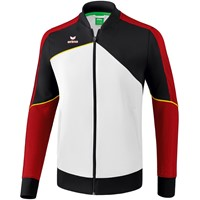 Erima Premium One 2.0 Trainingsvest - Wit / Zwart / Rood / Geel