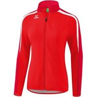 Erima Liga 2.0 Trainingsvest Dames - Rood / Donkerrood / Wit