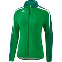 Erima Liga 2.0 Trainingsvest Dames - Smaragd / Evergreen / Wit