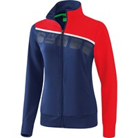 Erima 5-C Trainingsvest Dames - New Navy / Rood / Wit