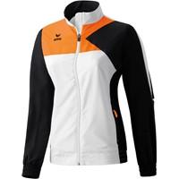 Erima Premium One Trainingsvest Dames - Wit / Zwart / Neon Oranje