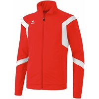 Erima Classic Team Polyesterjack - Rood / Wit