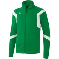 Erima Classic Team Polyesterjack Kinderen - Smaragd / Wit
