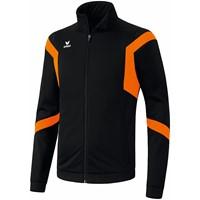 Erima Classic Team Polyesterjack Kinderen - Zwart / Oranje