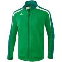 Erima Liga 2.0 Trainingsjack - Smaragd / Evergreen / Wit