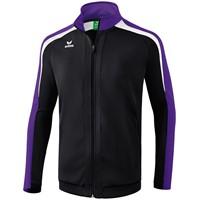 Erima Liga 2.0 Trainingsjack - Zwart / Donker Violet / Wit