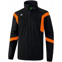 Erima Classic Team Regenjas - Zwart / Oranje