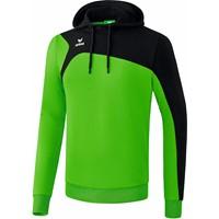 Erima Club 1900 2.0 Sweatshirt Met Capuchon Kinderen - Green / Zwart