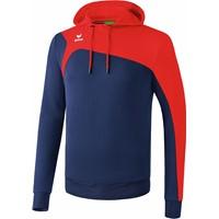 Erima Club 1900 2.0 Sweatshirt Met Capuchon Kinderen - New Navy / Rood