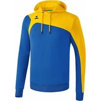Erima Club 1900 2.0 Sweatshirt Met Capuchon Kinderen - New Royal / Geel