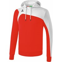 Erima Club 1900 2.0 Sweatshirt Met Capuchon Kinderen - Rood / Wit