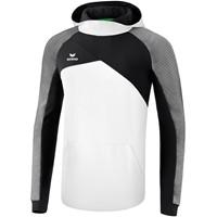 Erima Premium One 2.0 Sweatshirt Met Capuchon - Wit / Zwart