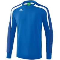 Erima Liga 2.0 Sweatshirt Kinderen - New Royal / True Blue / Wit
