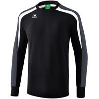 Erima Liga 2.0 Sweatshirt Kinderen - Zwart / Wit / Donkergrijs