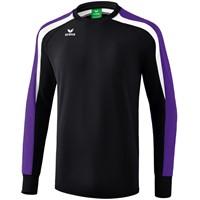 Erima Liga 2.0 Sweatshirt Kinderen - Zwart / Donker Violet / Wit