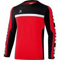 Erima 5-cubes Trainingssweater Kinderen - Rood / Zwart / Wit