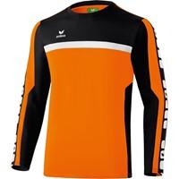 Erima 5-cubes Trainingssweater - Oranje / Zwart / Wit