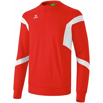 Picture of Erima Classic Team Sweatshirt - Rood / Wit