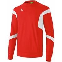 Erima Classic Team Sweatshirt - Rood / Wit