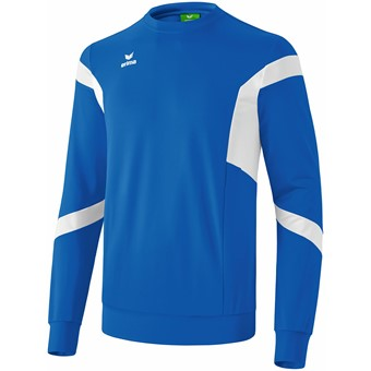 Picture of Erima Classic Team Sweatshirt - New Royal / Wit