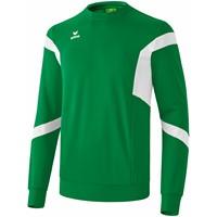 Erima Classic Team Sweatshirt Kinderen - Smaragd / Wit