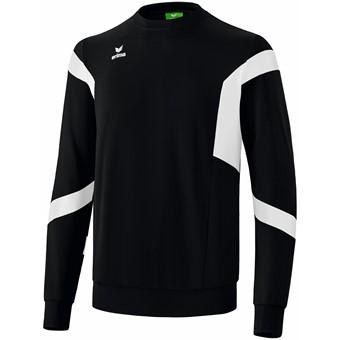 Picture of Erima Classic Team Sweatshirt - Zwart / Wit