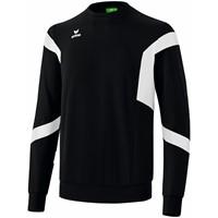 Erima Classic Team Sweatshirt - Zwart / Wit