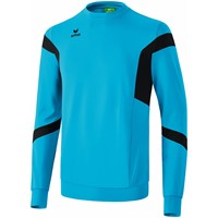 Erima Classic Team Sweatshirt - Curacao / Zwart