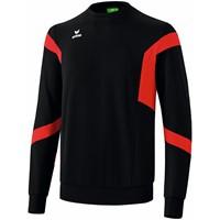 Erima Classic Team Sweatshirt Kinderen - Zwart / Rood