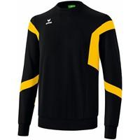 Erima Classic Team Sweatshirt - Zwart / Geel